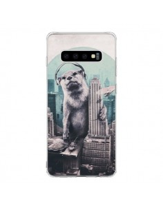 Coque Samsung S10 Loutre Dj New York - Ali Gulec