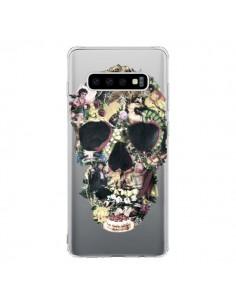 Coque Samsung S10 Skull Vintage Tête de Mort Transparente - Ali Gulec