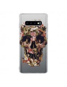 Coque Samsung S10 Jungle Skull Tête de Mort Transparente - Ali Gulec