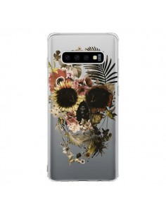 Coque Samsung S10 Garden Skull Tête de Mort Transparente - Ali Gulec