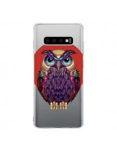 Coque Samsung S10 Chouette Hibou Owl Transparente - Ali Gulec