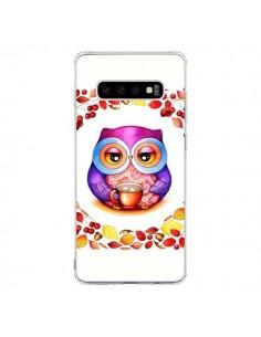 Coque Samsung S10 Chouette Automne - Annya Kai