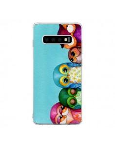 Coque Samsung S10 Famille Chouettes - Annya Kai