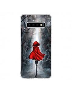Coque Samsung S10 Le Petit Chaperon Rouge Bois - Annya Kai