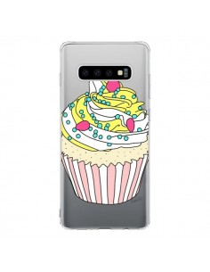 Coque Samsung S10 Cupcake Dessert Transparente - Asano Yamazaki