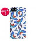 Coque Perroquets Parrot pour iPhone 5 et 5S - Eleaxart