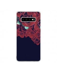 Coque Samsung S10 Roses - Eleaxart