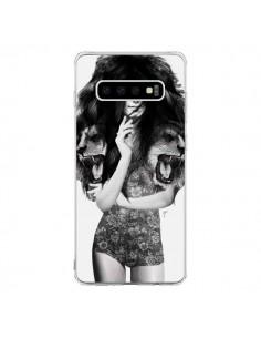 Coque Samsung S10 Femme Lion - Jenny Liz Rome