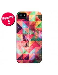 Coque Azteque Galaxy pour iPhone 5 et 5S - Eleaxart