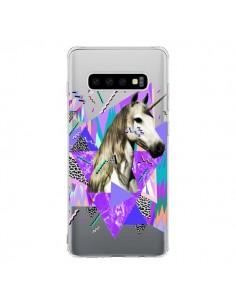 Coque Samsung S10 Licorne Unicorn Azteque Transparente - Kris Tate