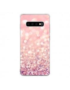 Coque Samsung S10 Paillettes Blush - Lisa Argyropoulos