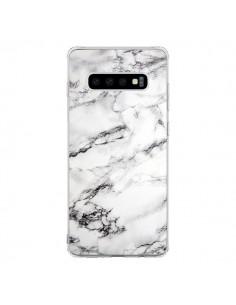 Coque Samsung S10 Marbre Marble Blanc White - Laetitia