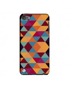 Coque Azteque Triangle Orange pour iPod Touch 5 - Eleaxart