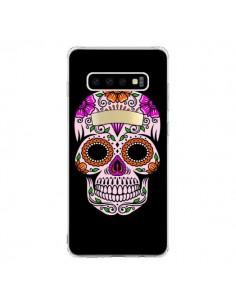 Coque Samsung S10 Tête de Mort Mexicaine Multicolore - Laetitia