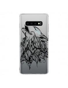 Coque Samsung S10 Loup Hurlant Transparente - LouJah