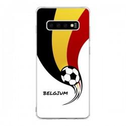 Coque Samsung S10 Equipe Belgique Belgium Football - Madotta