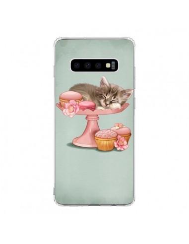 Coque Samsung S10 Chaton Chat Kitten...