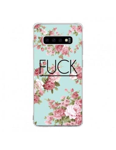 Coque Samsung S10 Fuck Fleurs - Maryline Cazenave