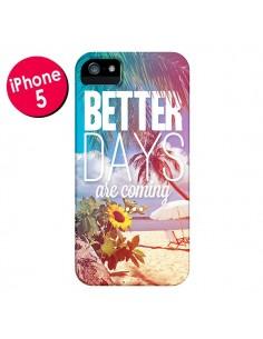 Coque Better Days Été pour iPhone 5 et 5S - Eleaxart