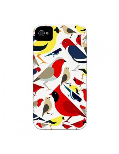 Coque Oiseaux Birds pour iPhone 4 et 4S - Eleaxart
