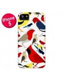 Coque Oiseaux Birds pour iPhone 5 et 5S - Eleaxart