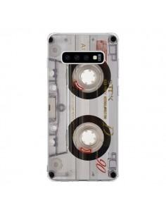 Coque Samsung S10 Cassette Transparente K7 - Maximilian San