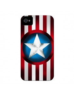 Coque Captain America Great Defender pour iPhone 4 et 4S - Eleaxart