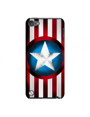 Coque Captain America Great Defender pour iPod Touch 5 - Eleaxart