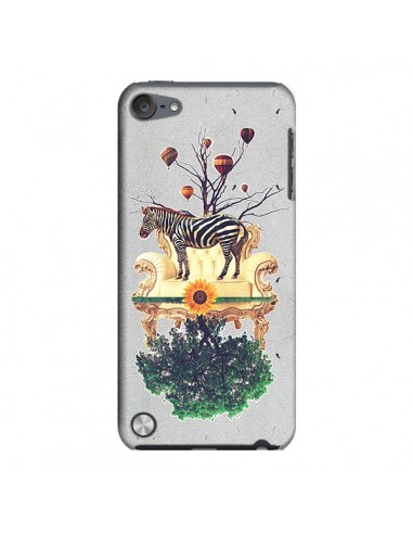 Coque Zebre The World pour iPod Touch 5 - Eleaxart