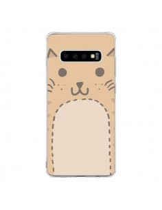 Coque Samsung S10 Big Cat chat - Santiago Taberna