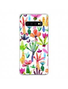 Coque Samsung S10 Overlapped Watercolor Dots - Ninola Design