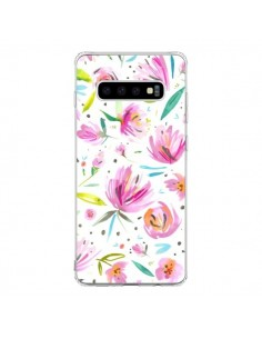 Coque Samsung S10 Painterly Waterolor Texture - Ninola Design