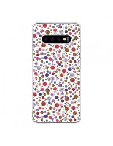 Coque Samsung S10 Peonies Pink - Ninola Design