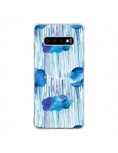 Coque Samsung S10 Rain Stitches Neon - Ninola Design