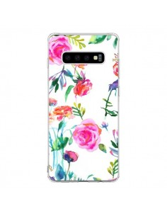 Coque Samsung S10 Raining Clouds Blue - Ninola Design