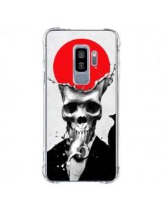 Coque Samsung S9 Plus Splash Skull Tête de Mort - Ali Gulec