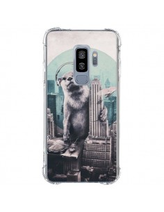 Coque Samsung S9 Plus Loutre Dj New York - Ali Gulec