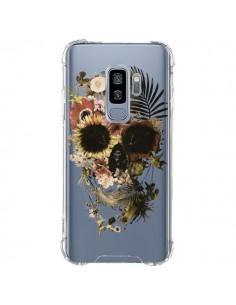 Coque Samsung S9 Plus Garden Skull Tête de Mort Transparente - Ali Gulec