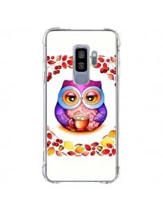 Coque Samsung S9 Plus Chouette Automne - Annya Kai
