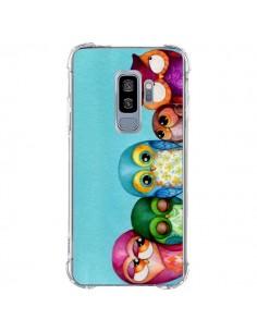 Coque Samsung S9 Plus Famille Chouettes - Annya Kai