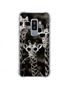 Coque Samsung S9 Plus Girafe Swag Lunettes Familiy Giraffe - Asano Yamazaki