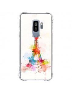 Coque Samsung S9 Plus Paris Tour Eiffel Muticolore - Asano Yamazaki
