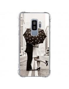 Coque Samsung S9 Plus Secret under Umbrella Amour Couple Love - Asano Yamazaki