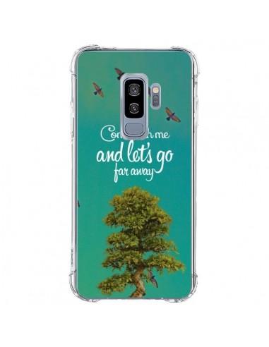 Coque Samsung S9 Plus Let's Go Far...