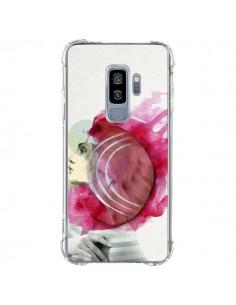 Coque Samsung S9 Plus Bright Pink Femme - Jenny Liz Rome