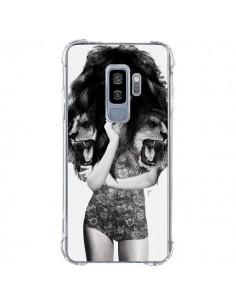 Coque Samsung S9 Plus Femme Lion - Jenny Liz Rome