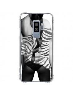 Coque Samsung S9 Plus Femme Zebre - Jenny Liz Rome