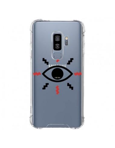 Coque Samsung S9 Plus Eye I See You Oeil Transparente - Koura-Rosy Kane