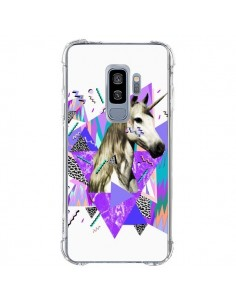 Coque Samsung S9 Plus Licorne Unicorn Azteque - Kris Tate