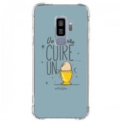 Coque Samsung S9 Plus Va te faire cuir un oeuf gris - Leellouebrigitte